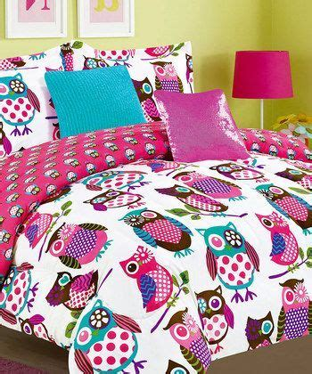 Owl Bedroom Ideas by Pink Yukon Comforter Set Zulily Owls Owl Bedrooms