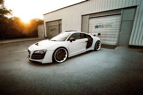 Audi R8 White Phoenix By Prior Design & Famous Parts