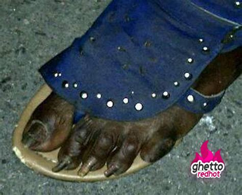 Ugly Feet Meme - girls be like my nails on point ghetto red hot