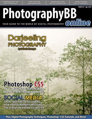 Photographybb Online Magazine  27th Edition Now Available