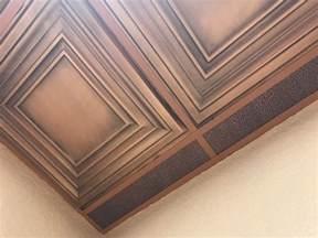 Fiberglass Ceiling Tiles 24x24 by Washington Square Faux Tin Ceiling Tile 24 X24 Dct