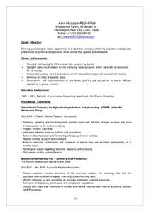 Senior Accountant Cover Letter Senior Accountant Resume