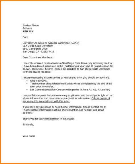 grade appeal letter samples appeal letter