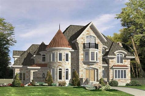 Luxury, Victorian, European House Plans   Home Design PDI