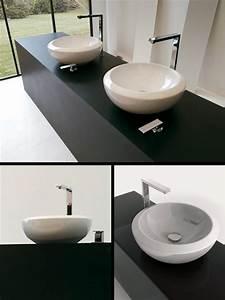 Lavabo Rectangulaire étroit : vasque a poser sur plan de travail ~ Edinachiropracticcenter.com Idées de Décoration