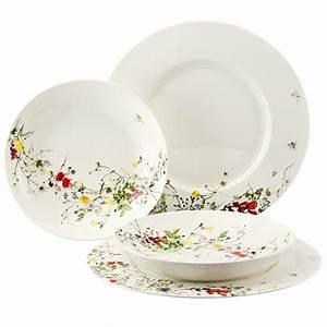 Rosenthal Geschirr Set : geschirr set teller fleurs von rosenthal erkmann ~ Eleganceandgraceweddings.com Haus und Dekorationen