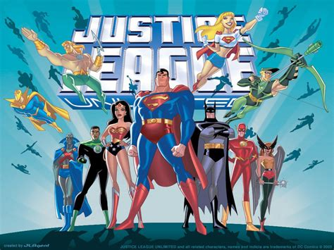 Justice League Animated Wallpaper - justice league unlimited wallpaper and background image