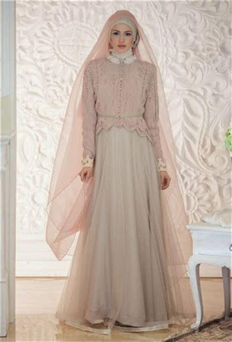 dan foto desain baju dan gaun pengantin islami muslim yang syar i