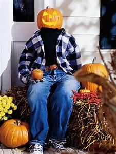 Tete De Citrouille Pour Halloween : 17 id es effrayantes originales de d coration pour halloween ~ Melissatoandfro.com Idées de Décoration