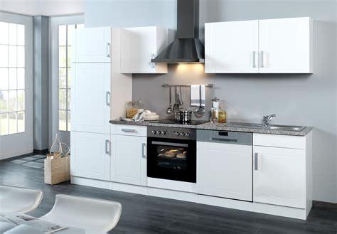 Küchenzeile Mit Elektrogeräten by K 252 Chenzeile Mit Elektroger 228 Ten Einbauk 252 Che Mit Ger 228 Ten 280