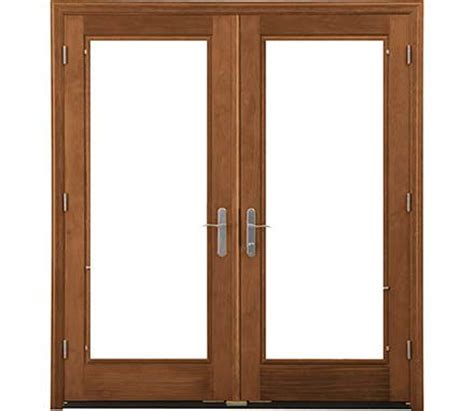 designer series hinged patio door pella