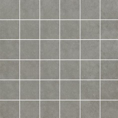 gray tile shop style selections mitte gray glazed porcelain mosaic square medallion tile common 12 in x