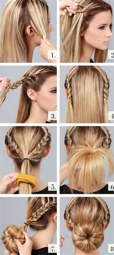 frisuren halblange haare hochstecken