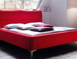 Bett 160x200 Mit Lattenrost : polsterbett cloude bett 160x200 cm rot mit lattenrost matratze wohnbereiche schlafzimmer betten ~ Whattoseeinmadrid.com Haus und Dekorationen