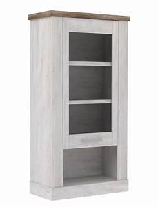 Hängevitrine Weiß Landhaus : h ngevitrine durio 10 pinie wei 71x137x34 cm vitrine wandschrank wohnbereiche esszimmer ~ Markanthonyermac.com Haus und Dekorationen