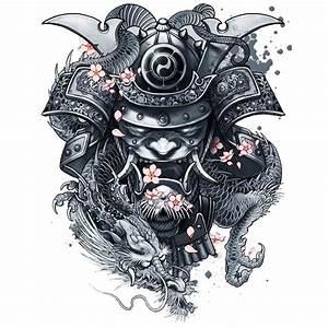 Demon Japonais Dessin : tatoo temporaire samoura ~ Maxctalentgroup.com Avis de Voitures