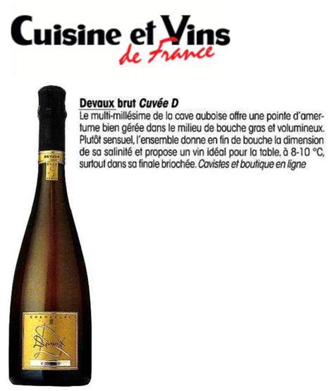 cuisines et vins de cuisine et vins de cuvée d chagne devaux