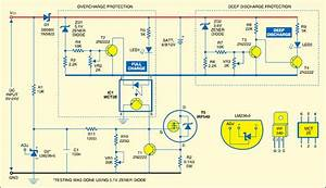 Adjustable Current 6v 12v Battery Charger Circuit