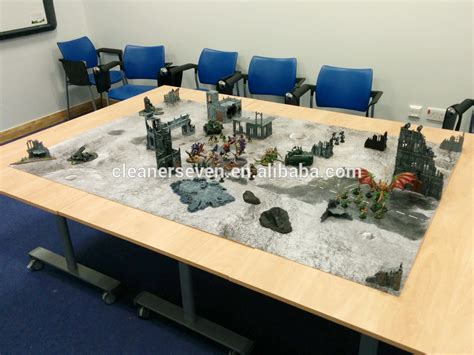 siege table large size neoprene play mat commando battle mat
