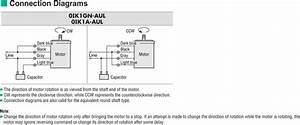 Wiring Diagram Oriental Motor