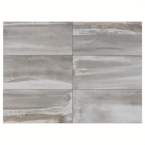 milled earth porcelain tiles 6 quot x 24 quot at menards 174