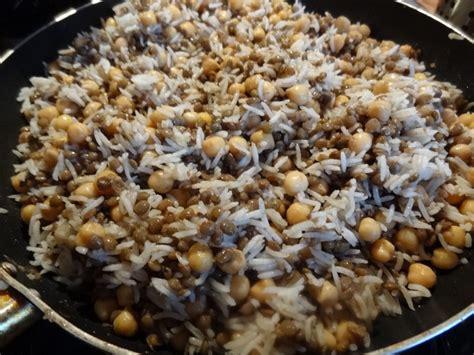 cuisine egyptienne recette koshari egypte la tendresse en cuisine