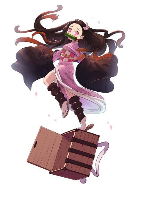 wallpaper kimetsu  yaiba anime girls  fan art