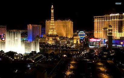 Vegas Las Wallpapers Desktop Casino Paris Night