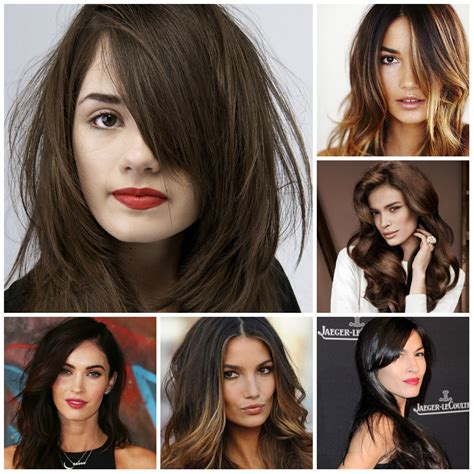 Hair Colours List by List Of The Trendy Hair Colors Fall 2017