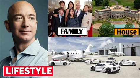 Jeff Bezos Lifestyle 2020, Income, House, Wife, Cars ...