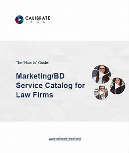 Empower Your Team With A Marketing  Bd Service Catalog