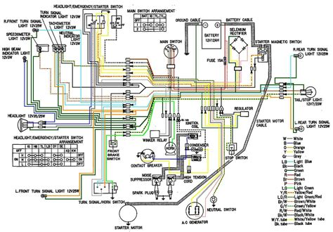 schematic electrical diagram cb450 color wiring diagram now corrected