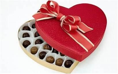 Valentine Chocolate Box Heart Shaped Surprising Impact