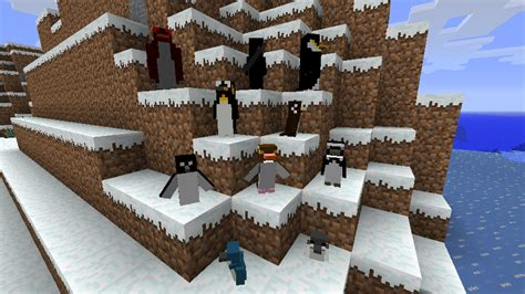 rancraft penguins mod  breed  types  penguins