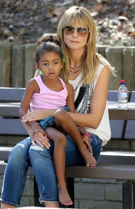 Heidi Klum In Heidi Klum Out With Her Daughter Zimbio