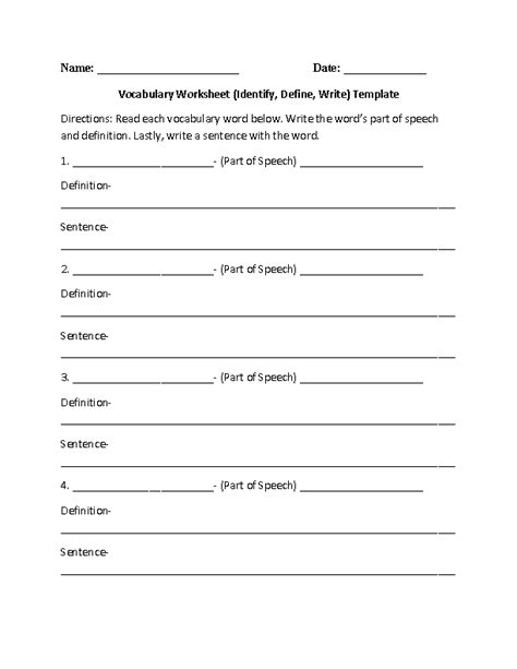 englishlinx vocabulary worksheets