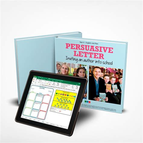 persuasive letter unit plan year   training space