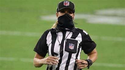 Sarah Thomas Referee Female Woman Nfl Official