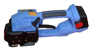 cordless hand held strapping machines packaging supplies daco