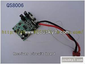Qs Qingsong Rc Parts Qs8006 Rc Parts Receiver Circuit