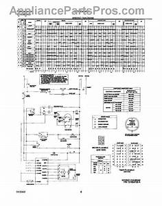 Parts For Frigidaire Gltf1040as0  131854700 Wiring Diagram Parts