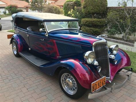 1933 Ford Phaeton  Classic Ford Other 1933 For Sale