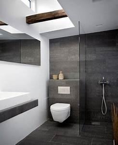 Bad Modern Fliesen : smartness design anthrazit badezimmer home design inspiration ~ Sanjose-hotels-ca.com Haus und Dekorationen