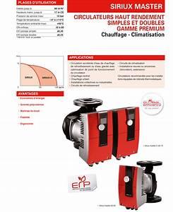 Circulateur De Chauffage : circulateur de chauffage salmson siriux master double 65 ~ Melissatoandfro.com Idées de Décoration