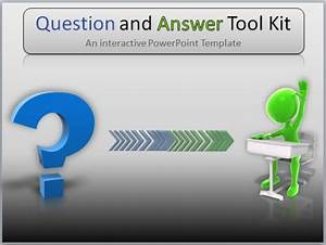 Editable templates for Question and answer powerpoint template