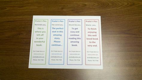 design  print   bookmarks