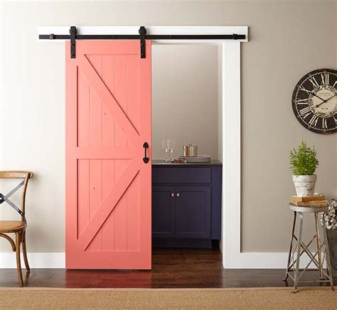 paint install your own barn doors home staging e