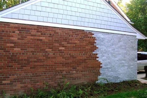 whitewash exterior brick     orange brick