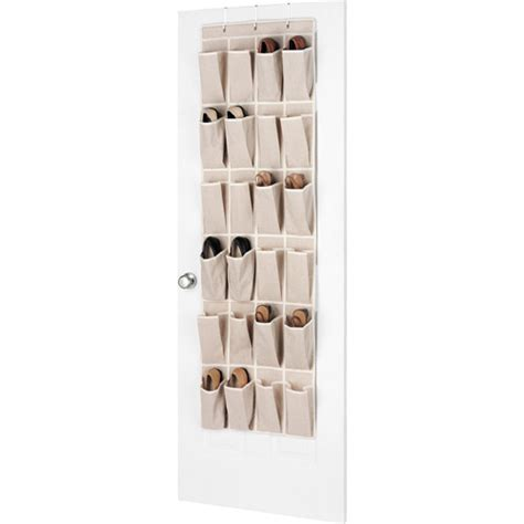 whitmor linen over the door shoe organizer walmart com