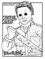 Jason Coloring Mask Voorhees 13th Friday Printable Getcolorings Getdrawings sketch template